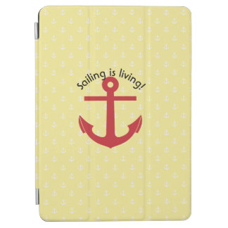 Sailing is living! iPad air cover