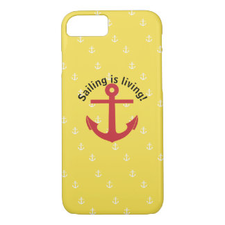 Sailing is living! iPhone 8/7 case