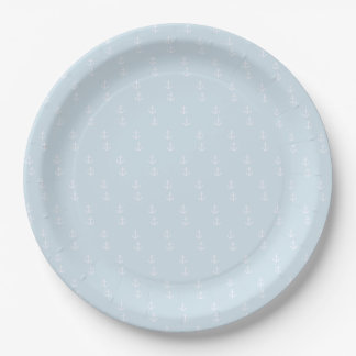 Sailing is living! paper plate