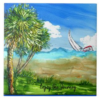 Sailing Journey Tile