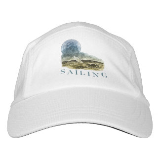 Sailing Knit Performance Hat, White Hat