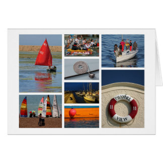 Sailing-lover's card
