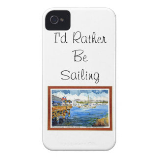 Sailing - Monterey Bay iPhone 4 Case-Mate Cases