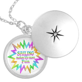 Sailing More Fun Locket Necklace
