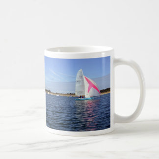 Sailing Basic White Mug