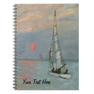Sailing Note Book Journal