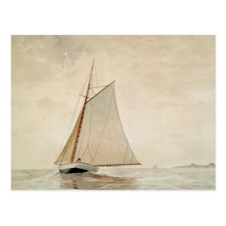 Sailing off Gloucester by Winslow Homer Postcard