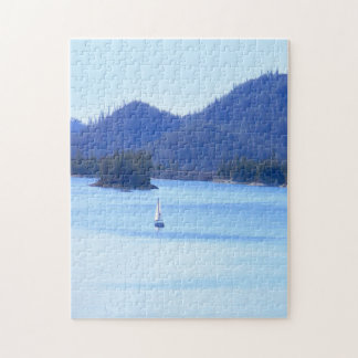 Sailing off in to the mountains... jigsaw puzzle