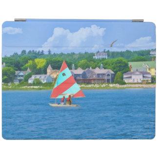 Sailing on Lake Huron iPad Cover