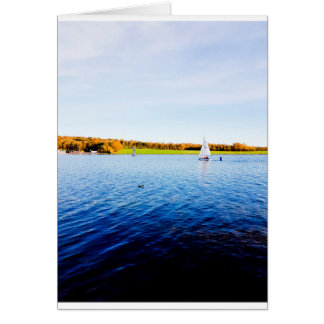 Sailing on Rother Valley Card