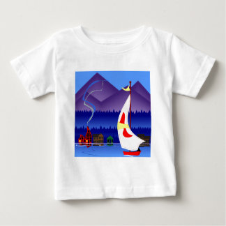 sailing on vacation baby T-Shirt