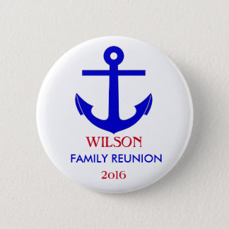 Sailing or Cruise Reunion (or Event) 2 Inch Round Button