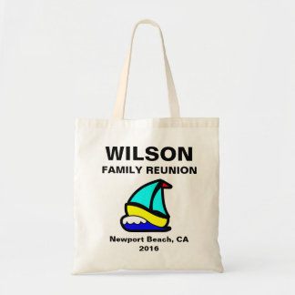 Sailing or Cruise Reunion (or Event) Budget Tote Bag