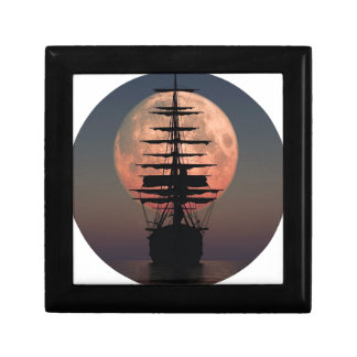 Sailing Pirate Moon Gift Box