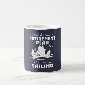 SAILING PLAN COFFEE MUG