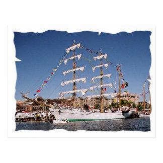 Sailing Postcard