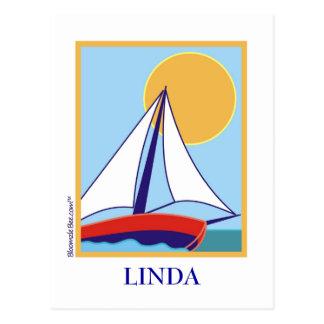 Sailing. Postcard