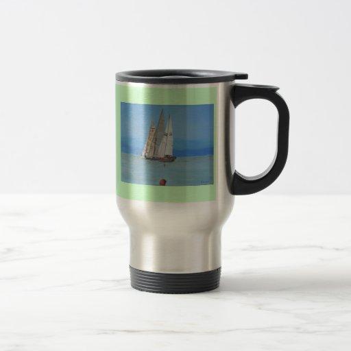 Sailing Regatta @ Dominici Studios Coffee Mugs