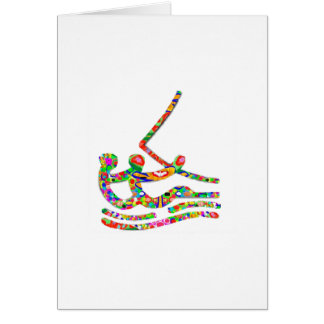SAILING Sailor Game Competition Greeting Card