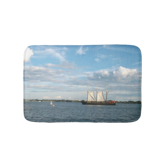 Sailing Ship Bath Mat