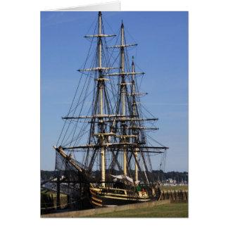 Sailing Ship Birthday Card