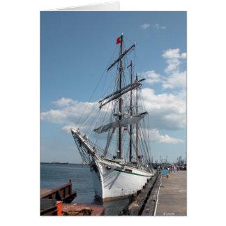 Sailing Ship--blank card