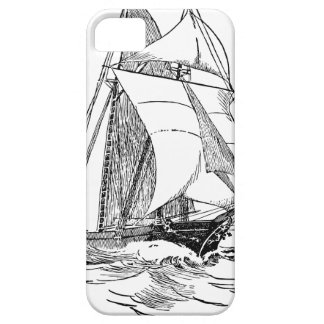 sailing ship boat boating wave water ocean lake iPhone 5 cases