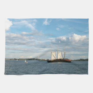 Sailing Ship Kitchen Towel