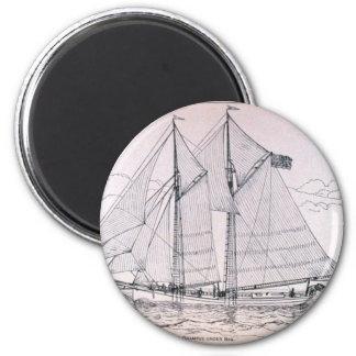 Sailing Ship Fridge Magnets