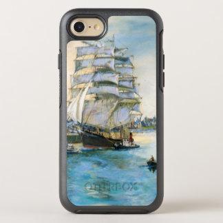 Sailing Ship Original Fine Art painting OtterBox Symmetry iPhone 8/7 Case