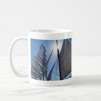 Sailing Ship Sail cup Basic White Mug