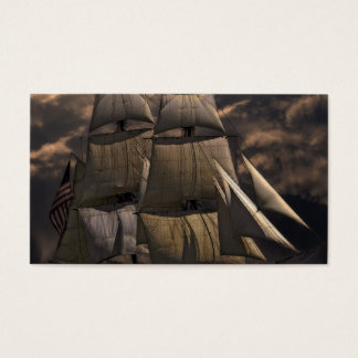 Sailing Ship Vessel Business Card