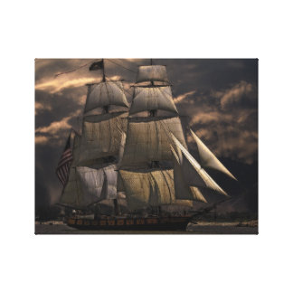 Sailing Ship Vessel Canvas Print