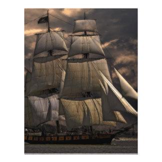 Sailing Ship Vessel Flyer