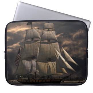 Sailing Ship Vessel Laptop Sleeve