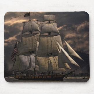 Sailing Ship Vessel Mouse Pad