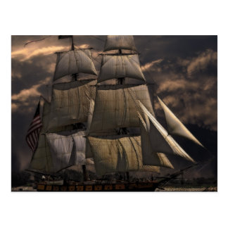 Sailing Ship Vessel Postcard