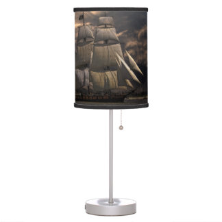 Sailing Ship Vessel Table Lamp