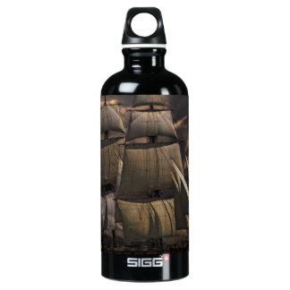Sailing Ship Vessel Water Bottle