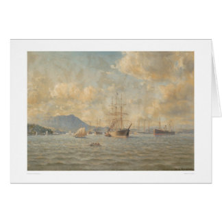 Sailing ships at Anchor (1282) Card
