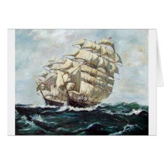 Sailing Ships Card