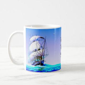 Sailing Ships Basic White Mug