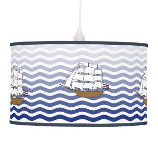 Sailing Ships Pendant Lamp