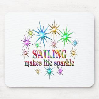 Sailing Sparkles Mouse Pad