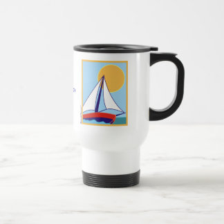Sailing. Stainless Steel Travel Mug