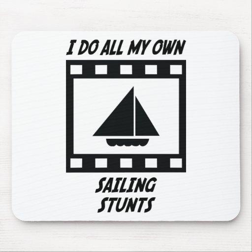 Sailing Stunts Mouse Mats