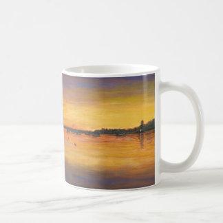 Sailing Sunset Painting Coffee Mug