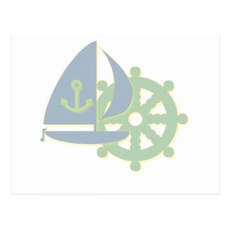 Sailing Team Postcard