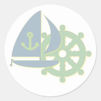 Sailing Team Sticker