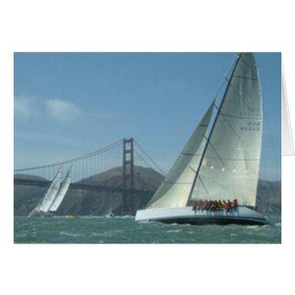 Sailing the Bay Card